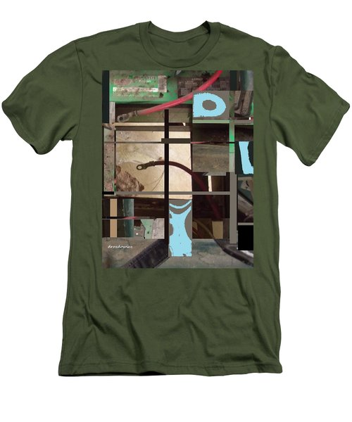 Stage Men's T-Shirt (Slim Fit) by Andrew Drozdowicz