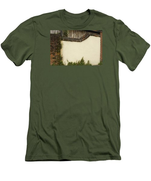 Men's T-Shirt (Slim Fit) featuring the photograph Stage-ready by Wanda Krack
