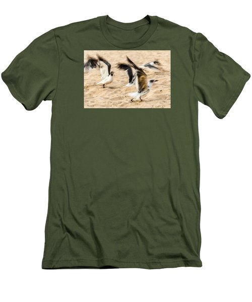 Stages Of Flight Men's T-Shirt (Slim Fit) by Wayne King