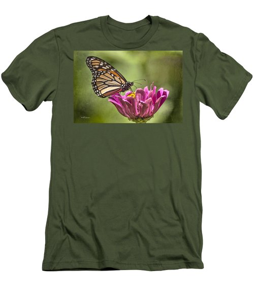 Stained Glass Wings Men's T-Shirt (Athletic Fit)