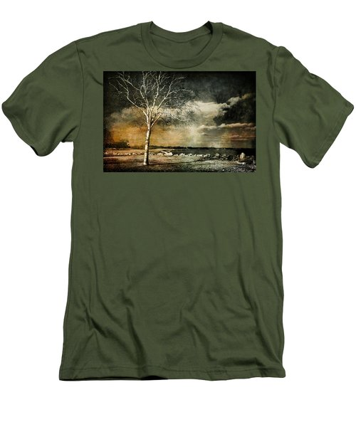 Stand Strong Men's T-Shirt (Slim Fit) by Susan McMenamin