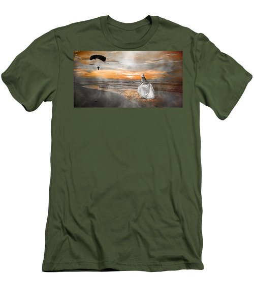 Standing By My Word Men's T-Shirt (Slim Fit)