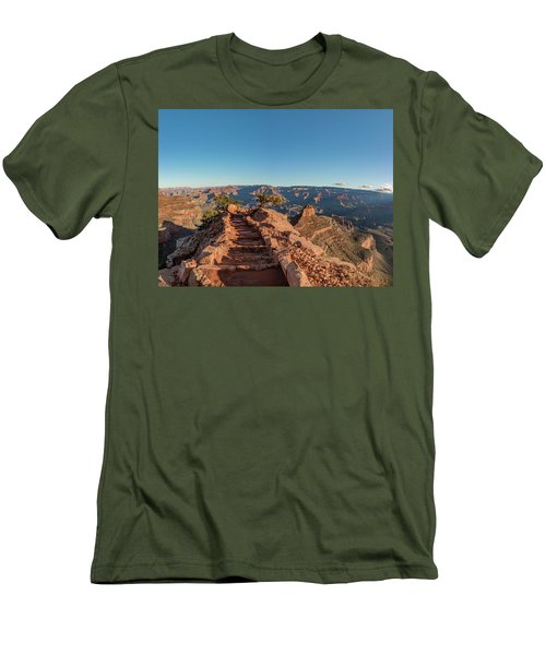 Standing On Top Men's T-Shirt (Athletic Fit)