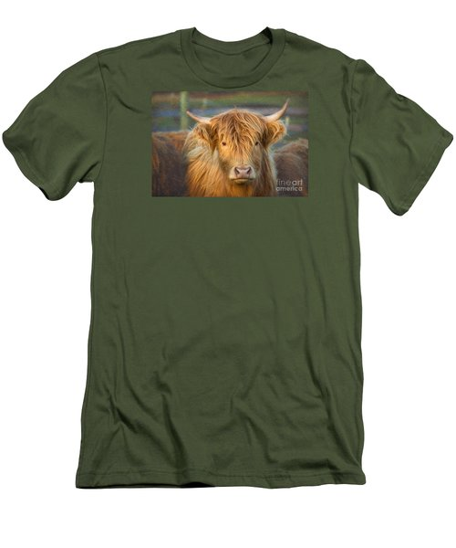 Standing Out In The Herd Men's T-Shirt (Athletic Fit)