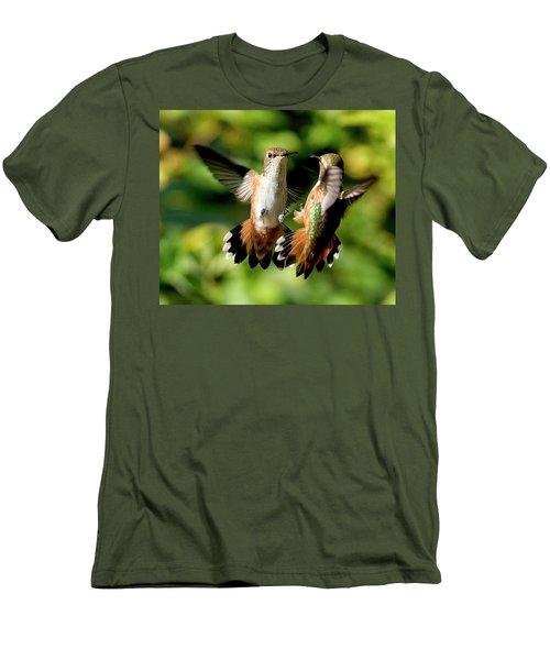 Standoff Men's T-Shirt (Athletic Fit)