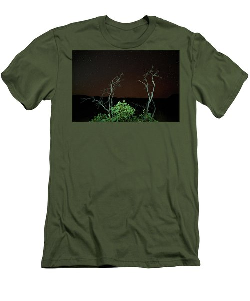 Star Light Star Bright Men's T-Shirt (Slim Fit) by Paul Svensen