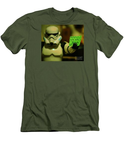 Men's T-Shirt (Slim Fit) featuring the photograph Star Wars Vii Debut, Hawaii by Craig Wood