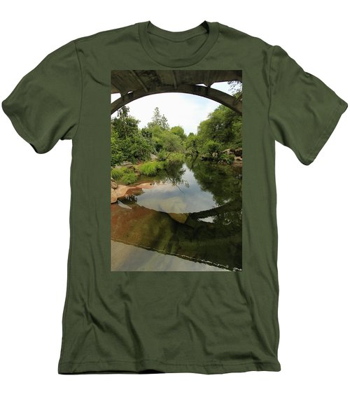 Men's T-Shirt (Athletic Fit) featuring the photograph Stargate Depths by Sean Sarsfield