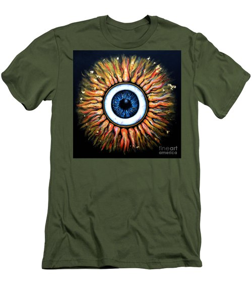 Starry Eye Men's T-Shirt (Athletic Fit)
