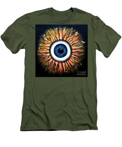 Starry Eye Men's T-Shirt (Athletic Fit)