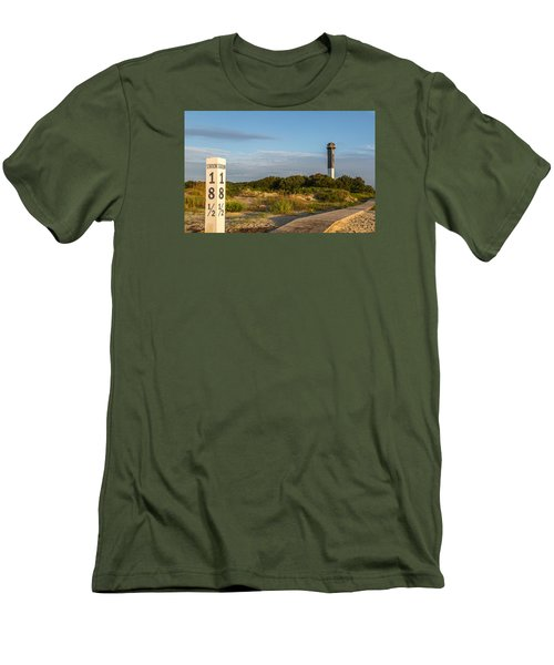 Station 18 1/2 On Sullivan's Island Men's T-Shirt (Athletic Fit)
