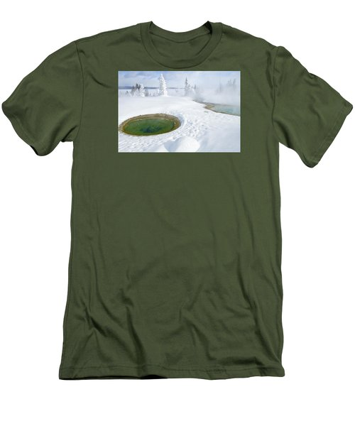 Steam And Snow Men's T-Shirt (Athletic Fit)
