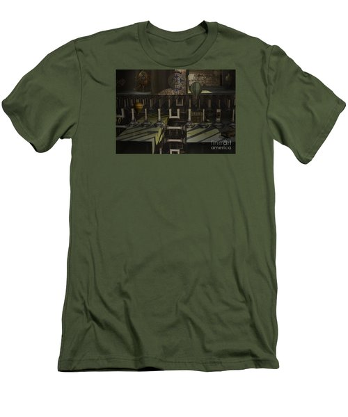 Steampunk Factory Men's T-Shirt (Slim Fit) by Melissa Messick