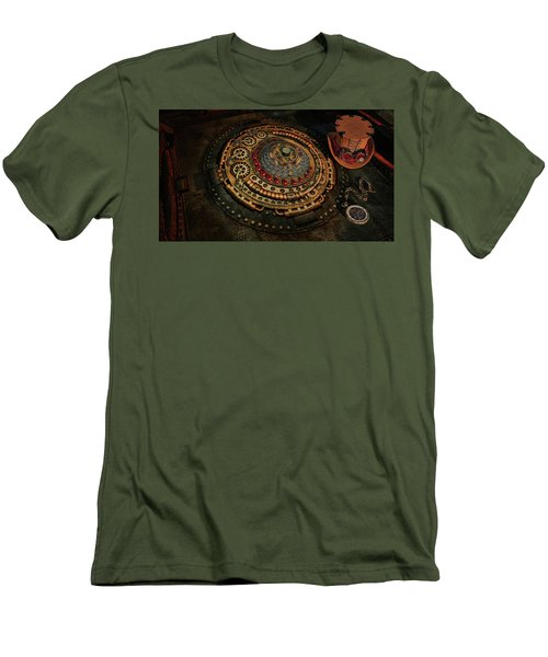 Men's T-Shirt (Slim Fit) featuring the photograph Steampunk by Louis Ferreira