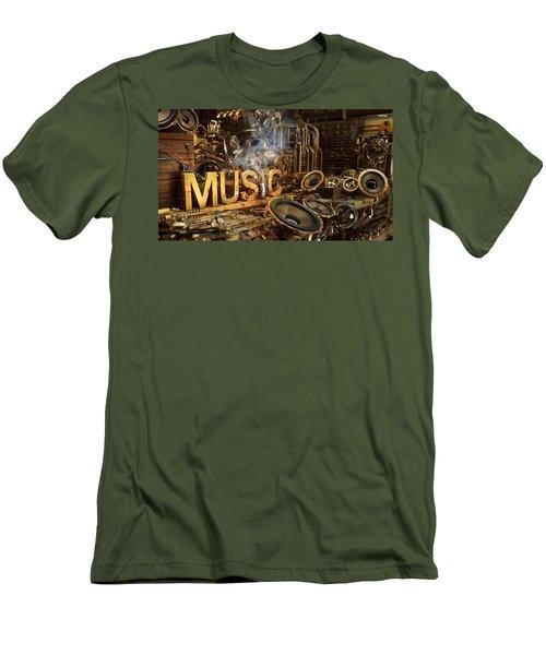 Steampunk Men's T-Shirt (Athletic Fit)