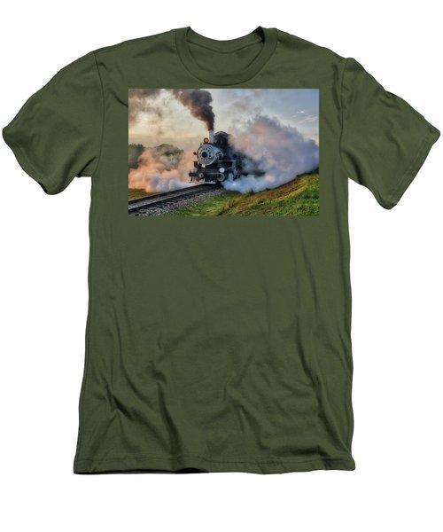 Steamy Departure Men's T-Shirt (Athletic Fit)
