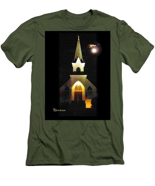Steeple Chase 3 Men's T-Shirt (Slim Fit) by Sadie Reneau