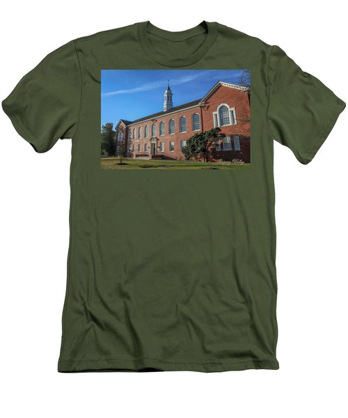 Men's T-Shirt (Slim Fit) featuring the photograph Stephens Hall by Gregory Daley  PPSA