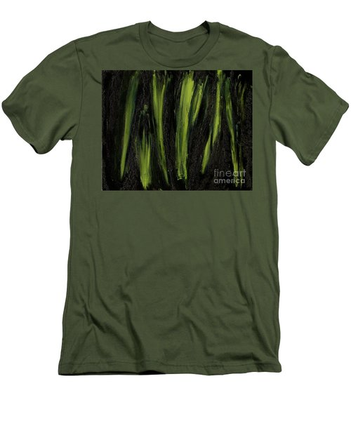 Stepping Through Mens Blades Of Mars Men's T-Shirt (Slim Fit) by Talisa Hartley