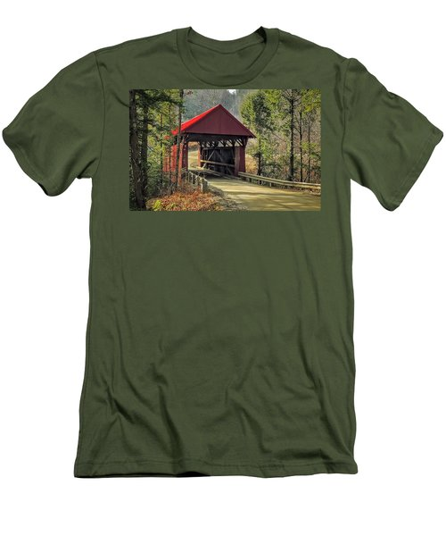 Sterling Covered Bridge Men's T-Shirt (Athletic Fit)