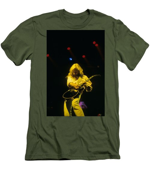 Steve Clark Men's T-Shirt (Slim Fit) by Rich Fuscia
