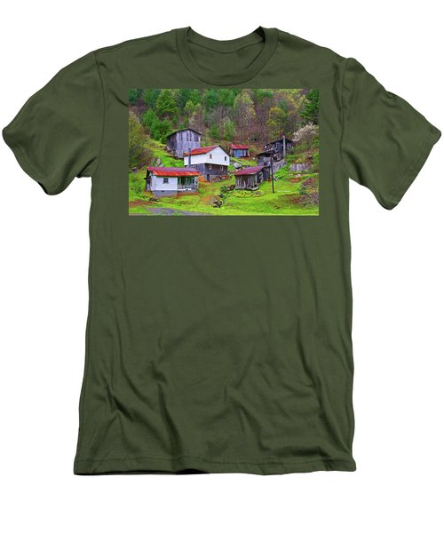 Stike Holler Men's T-Shirt (Slim Fit) by Dale R Carlson