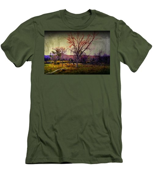 Men's T-Shirt (Slim Fit) featuring the photograph Still by Mark Ross