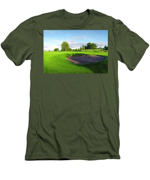 Stirling Golf Club 10th Men's T-Shirt (Slim Fit) by Jan W Faul