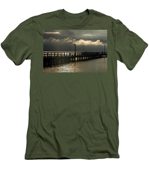 Storms Brewin' Men's T-Shirt (Athletic Fit)