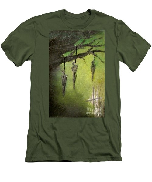 Strange Fruit Men's T-Shirt (Slim Fit) by Alys Caviness-Gober