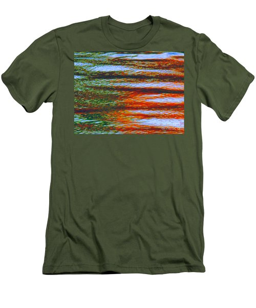 Streaming Rays Of Love Men's T-Shirt (Athletic Fit)