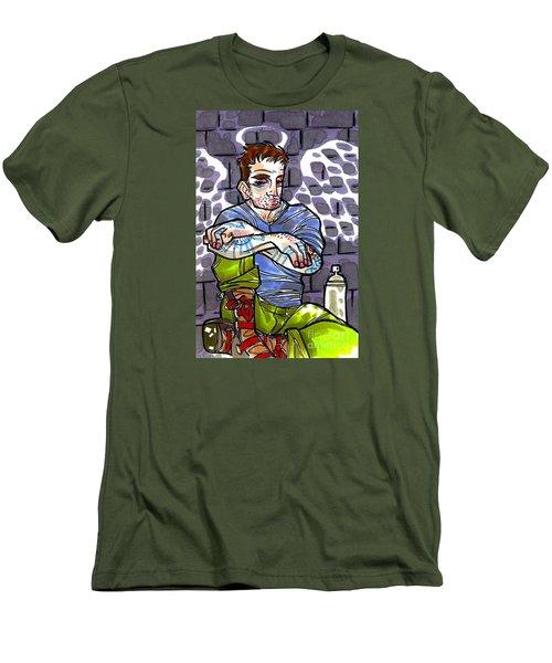 Street Angel Men's T-Shirt (Athletic Fit)