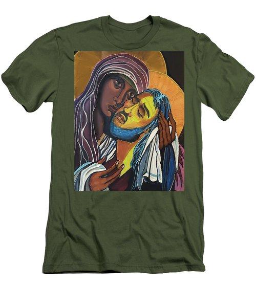 Street Madonna Men's T-Shirt (Athletic Fit)