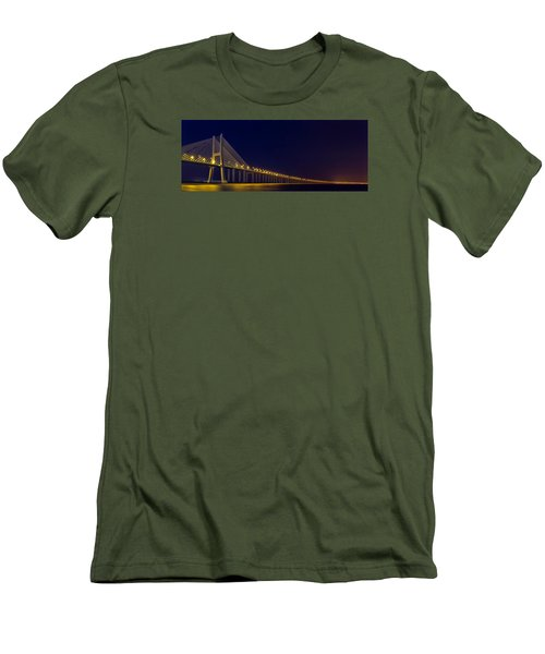 Stretching Into Infinity Men's T-Shirt (Athletic Fit)