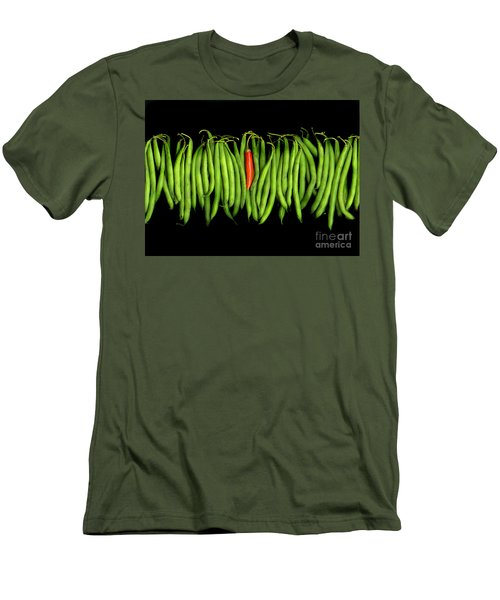 Stringbeans And Chilli Men's T-Shirt (Athletic Fit)
