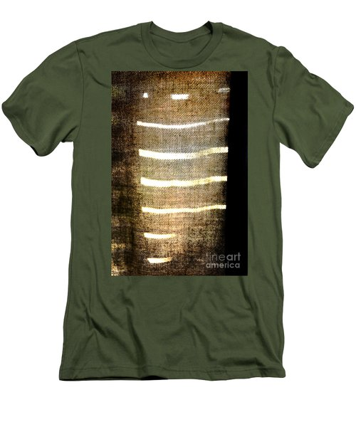 Stripes And Texture Men's T-Shirt (Athletic Fit)