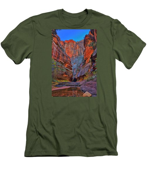 Subway Entrance Men's T-Shirt (Slim Fit) by Greg Norrell