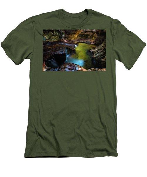 Subway Pools Men's T-Shirt (Athletic Fit)