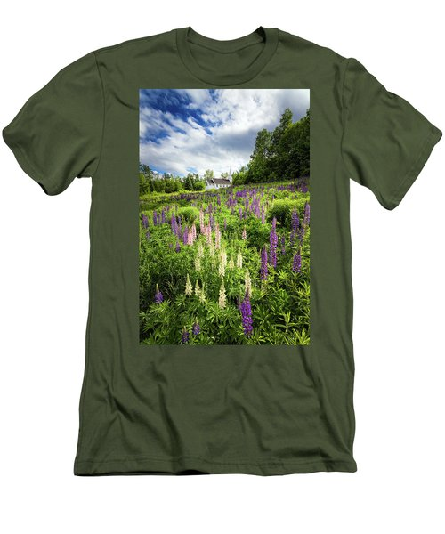 Men's T-Shirt (Slim Fit) featuring the photograph Sugar Hill by Robert Clifford