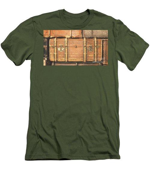 Suitcases  Men's T-Shirt (Athletic Fit)