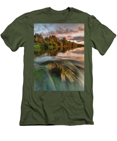 Summer Afternoon Men's T-Shirt (Slim Fit) by Davorin Mance