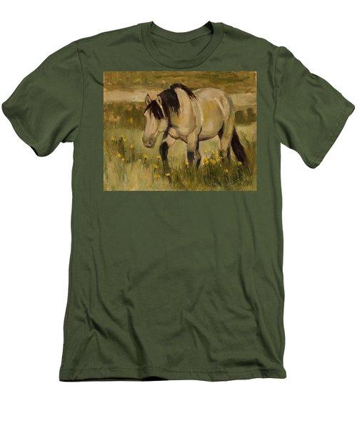 Summer Days Men's T-Shirt (Slim Fit) by Billie Colson