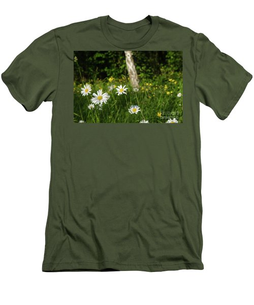 Men's T-Shirt (Athletic Fit) featuring the photograph Summer Feeling by Kennerth and Birgitta Kullman