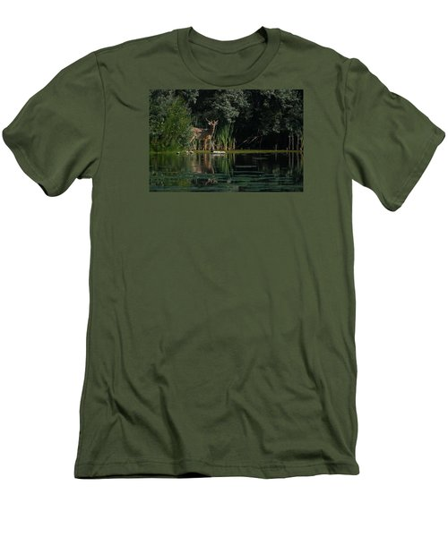 Summer Morning Walk Men's T-Shirt (Athletic Fit)