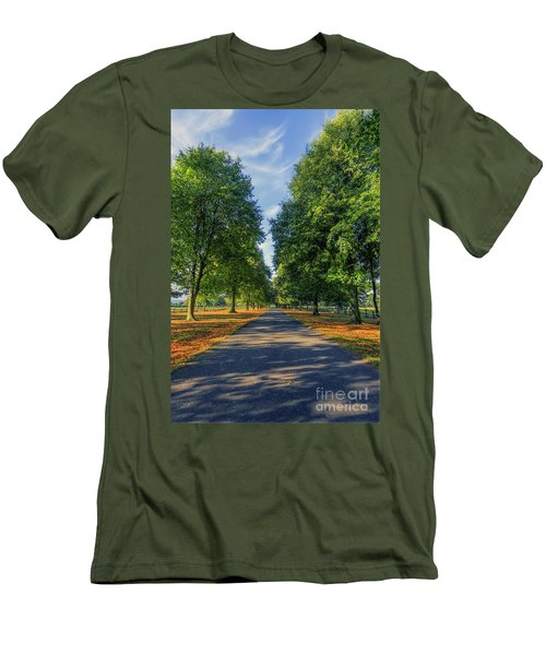 Summer Road Men's T-Shirt (Slim Fit) by Ian Mitchell
