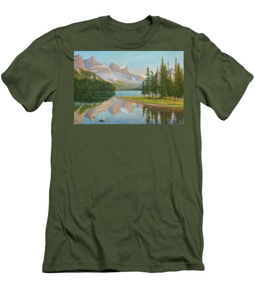 Summer Stillness Men's T-Shirt (Athletic Fit)