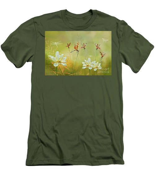 Men's T-Shirt (Slim Fit) featuring the photograph Summer Symphony by Bonnie Barry