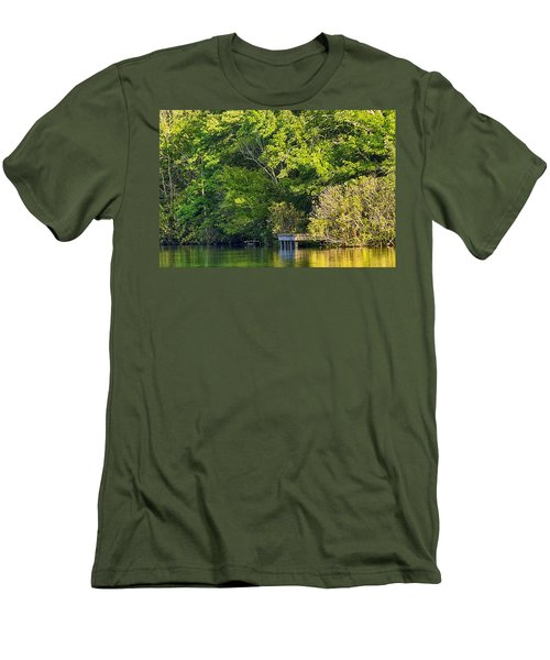 Summertime Men's T-Shirt (Slim Fit) by Swank Photography