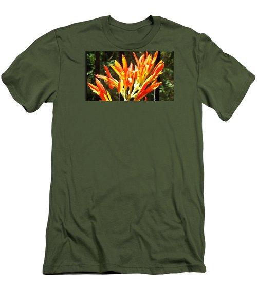 Men's T-Shirt (Slim Fit) featuring the photograph Sun Burst by Jake Hartz