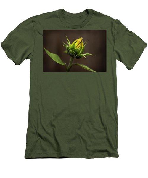 Sun Flower Blossom Men's T-Shirt (Athletic Fit)